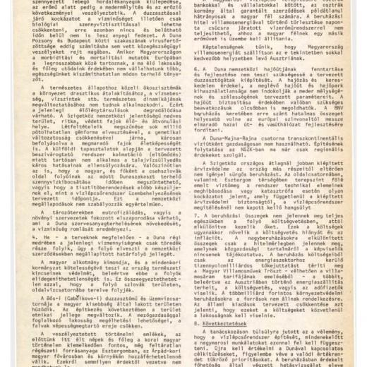 """""""A DUNAI DUZZASZTÓGÁTAK"""" – KONFERENCIA BUDAPESTEN (BESZÉLŐ 1988/3:88-90.O.)"""